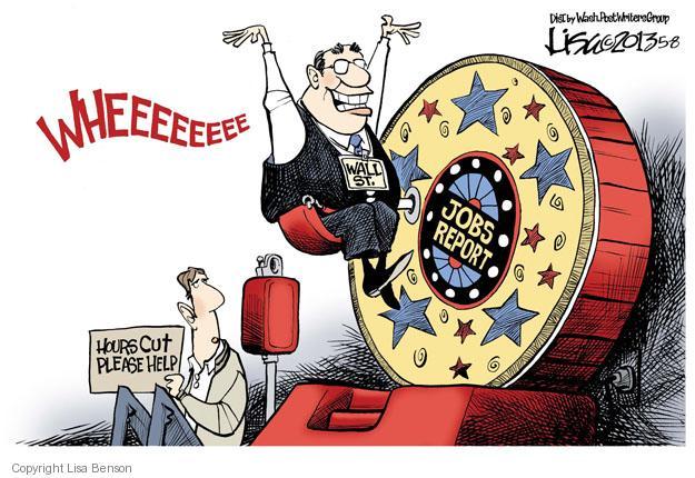 Cartoonist Lisa Benson  Lisa Benson's Editorial Cartoons 2013-05-08 unemployment