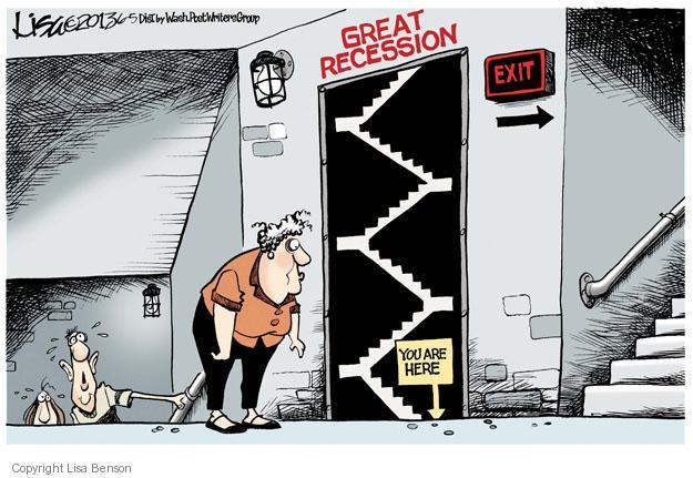 Cartoonist Lisa Benson  Lisa Benson's Editorial Cartoons 2013-06-05 recession
