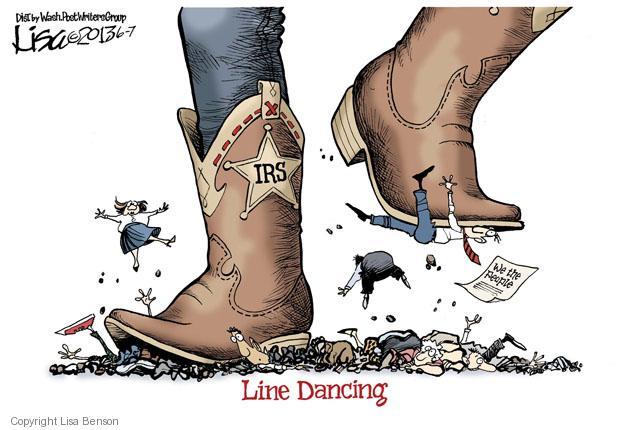 Lisa Benson  Lisa Benson's Editorial Cartoons 2013-06-07 tax audit