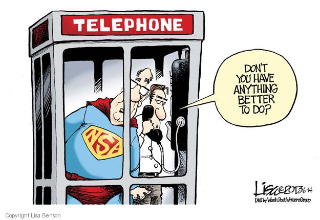Cartoonist Lisa Benson  Lisa Benson's Editorial Cartoons 2013-06-14 online security