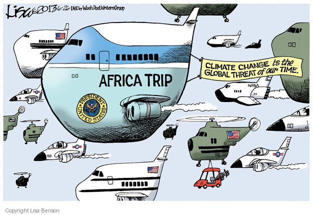 Lisa Benson  Lisa Benson's Editorial Cartoons 2013-06-26 Air Force One
