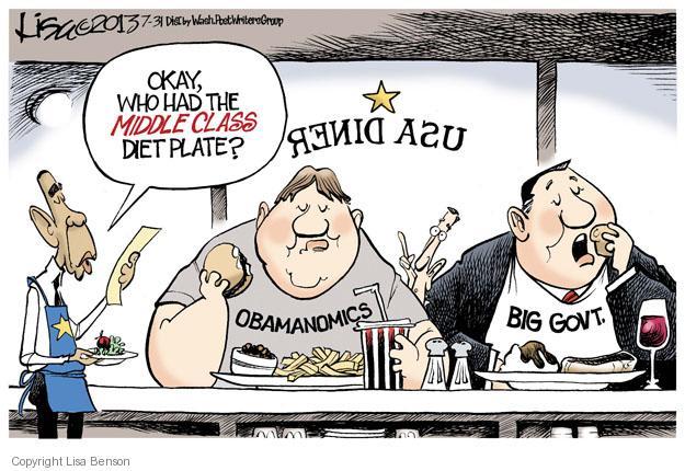 Cartoonist Lisa Benson  Lisa Benson's Editorial Cartoons 2013-07-31 big