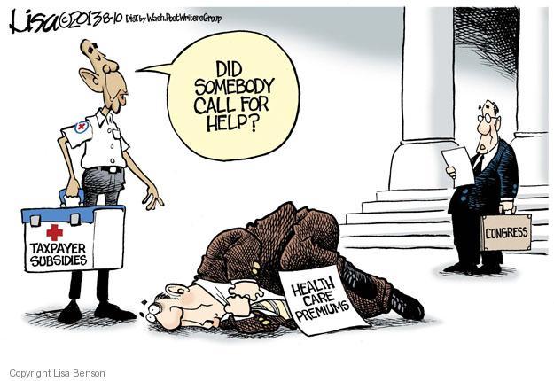 Cartoonist Lisa Benson  Lisa Benson's Editorial Cartoons 2013-08-10 congress health care