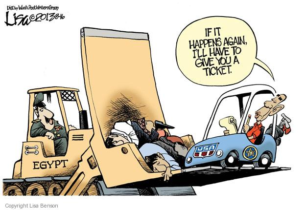 Cartoonist Lisa Benson  Lisa Benson's Editorial Cartoons 2013-08-16 violent