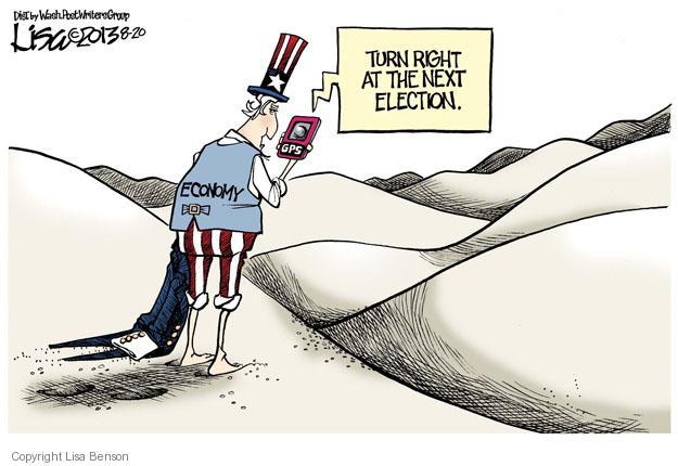 Cartoonist Lisa Benson  Lisa Benson's Editorial Cartoons 2013-08-20 recession