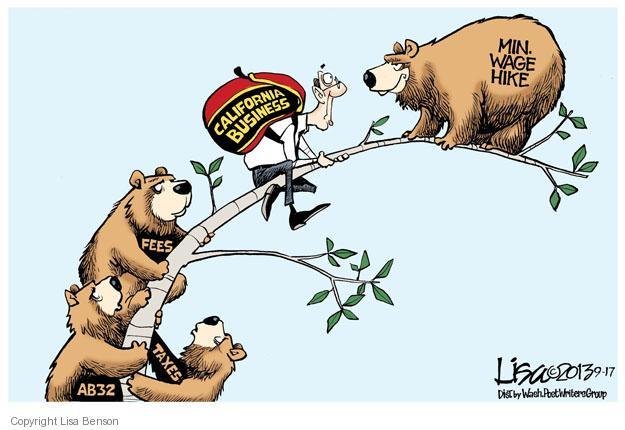 Cartoonist Lisa Benson  Lisa Benson's Editorial Cartoons 2013-09-17 minimum tax