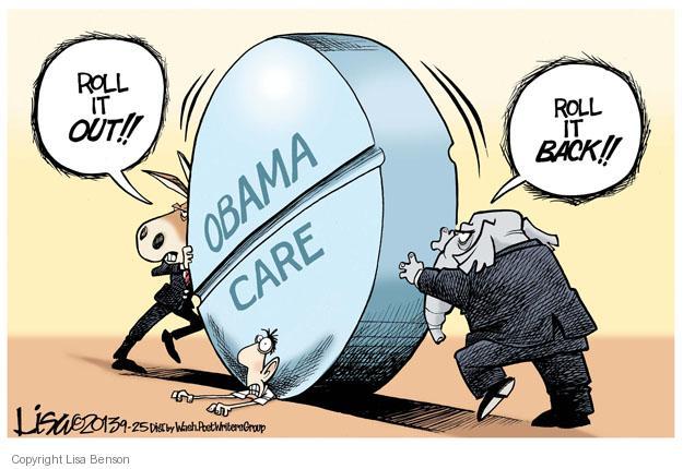 Cartoonist Lisa Benson  Lisa Benson's Editorial Cartoons 2013-09-25 congress health care