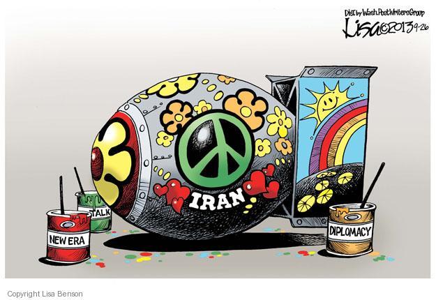 Cartoonist Lisa Benson  Lisa Benson's Editorial Cartoons 2013-09-26 missile