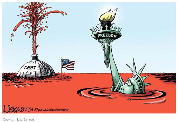 Lisa Benson  Lisa Benson's Editorial Cartoons 2013-09-27 liberty