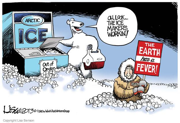 Cartoonist Lisa Benson  Lisa Benson's Editorial Cartoons 2013-10-01 Al Gore