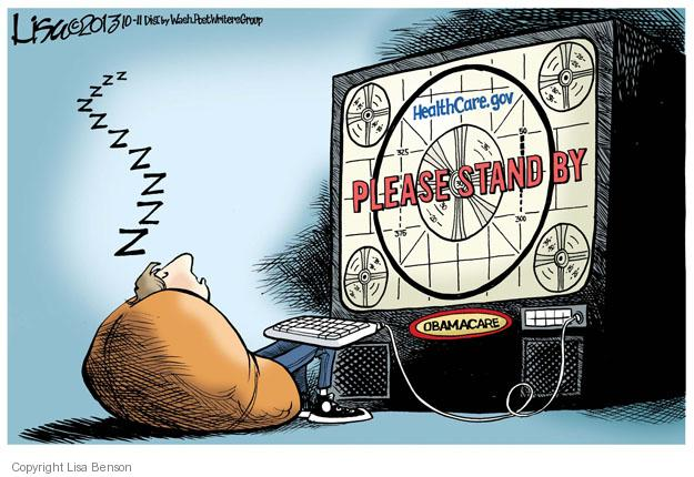 Cartoonist Lisa Benson  Lisa Benson's Editorial Cartoons 2013-10-11 stand
