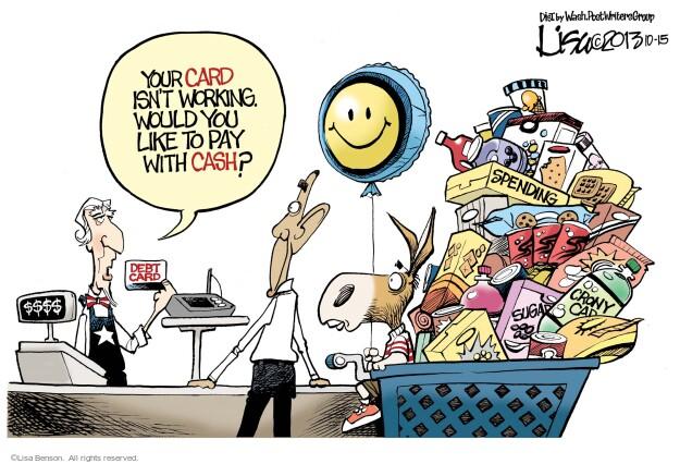 Lisa Benson  Lisa Benson's Editorial Cartoons 2013-10-15 pay