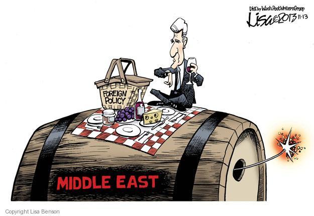 Cartoonist Lisa Benson  Lisa Benson's Editorial Cartoons 2013-11-13 mideast
