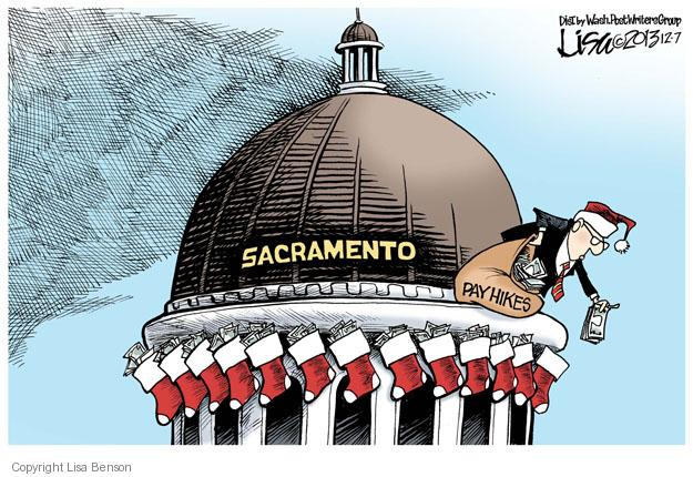Lisa Benson  Lisa Benson's Editorial Cartoons 2013-12-07 pay