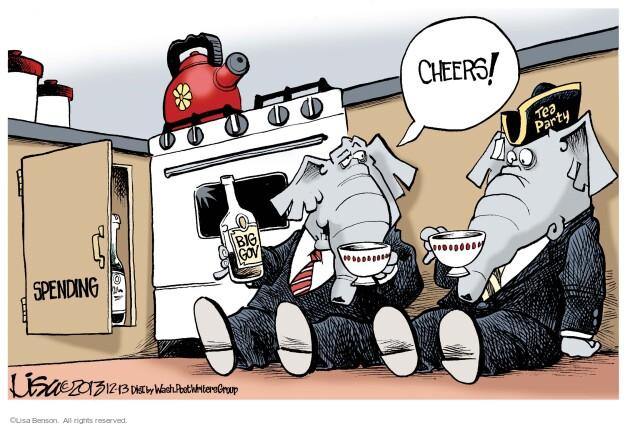 Cartoonist Lisa Benson  Lisa Benson's Editorial Cartoons 2013-12-13 big