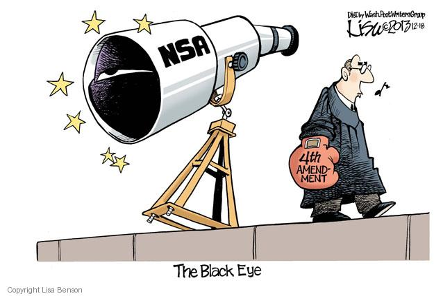 Cartoonist Lisa Benson  Lisa Benson's Editorial Cartoons 2013-12-18 Constitution