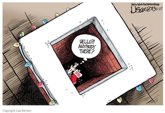 Cartoonist Lisa Benson  Lisa Benson's Editorial Cartoons 2013-12-27 unemployment