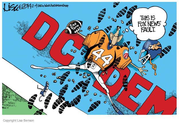 Cartoonist Lisa Benson  Lisa Benson's Editorial Cartoons 2014-02-04 partisan politics