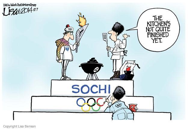 Lisa Benson  Lisa Benson's Editorial Cartoons 2014-02-07 2014 Olympics