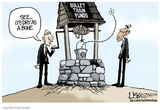Lisa Benson  Lisa Benson's Editorial Cartoons 2014-02-15 bullet