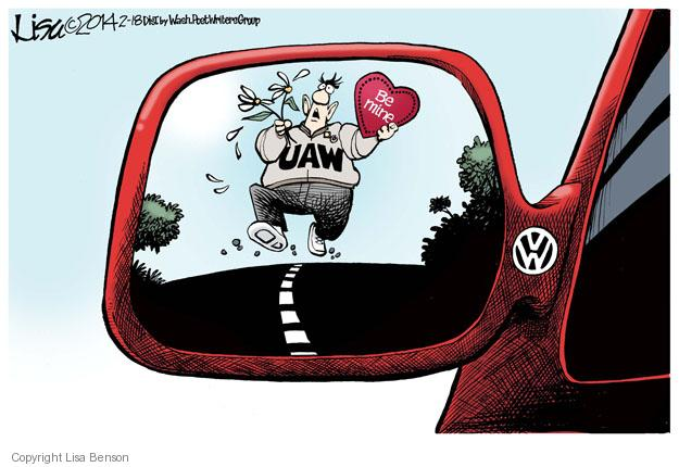Lisa Benson  Lisa Benson's Editorial Cartoons 2014-02-18 automobile