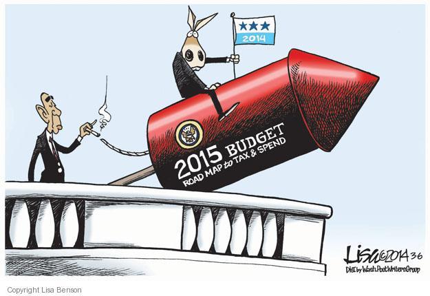 Lisa Benson  Lisa Benson's Editorial Cartoons 2014-03-06 federal budget