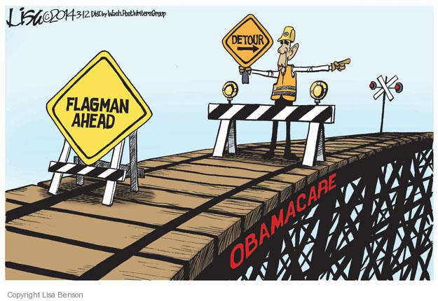Cartoonist Lisa Benson  Lisa Benson's Editorial Cartoons 2014-03-12 construction