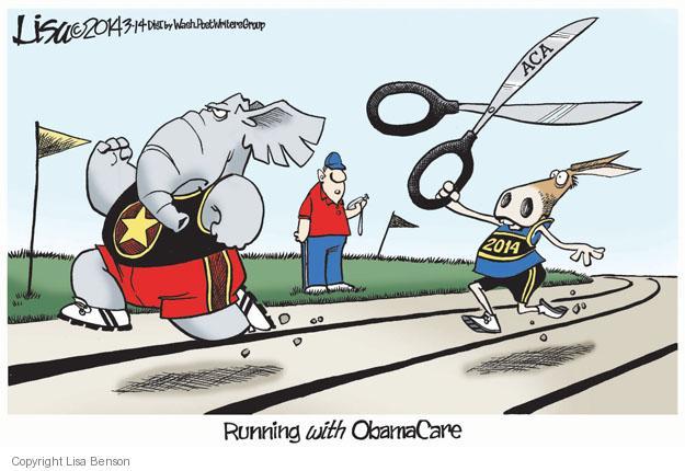 Lisa Benson  Lisa Benson's Editorial Cartoons 2014-03-14 2014 Obamacare
