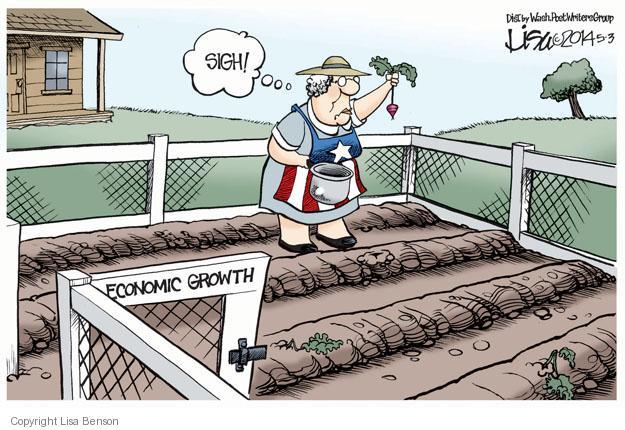 Cartoonist Lisa Benson  Lisa Benson's Editorial Cartoons 2014-05-03 recession