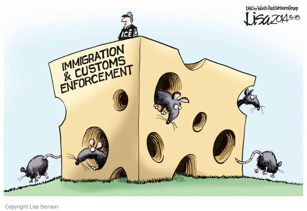 Immigration & Customs Enforcement.