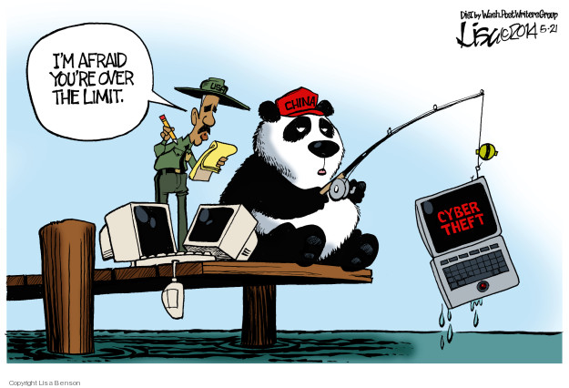 Lisa Benson  Lisa Benson's Editorial Cartoons 2014-05-21 China