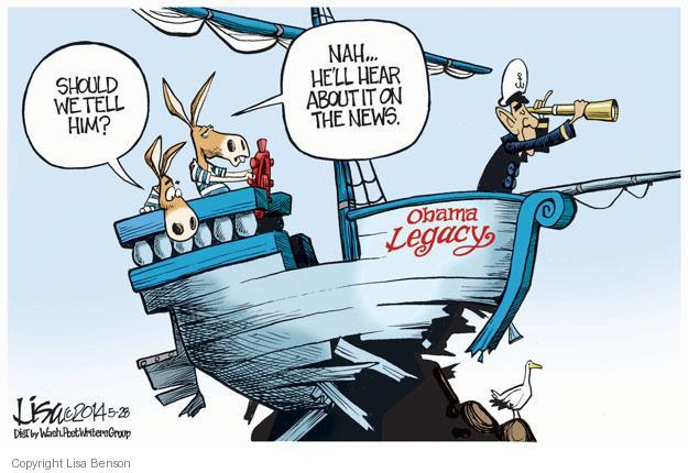 Cartoonist Lisa Benson  Lisa Benson's Editorial Cartoons 2014-05-28 president