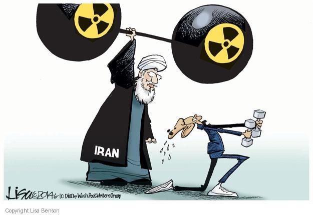 Lisa Benson  Lisa Benson's Editorial Cartoons 2014-06-10 Hassan Rouhani