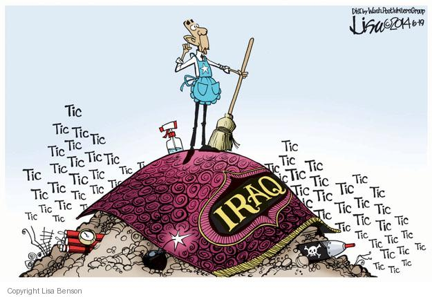 Cartoonist Lisa Benson  Lisa Benson's Editorial Cartoons 2014-06-19 intelligence
