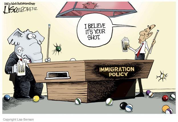 Cartoonist Lisa Benson  Lisa Benson's Editorial Cartoons 2014-07-12 president
