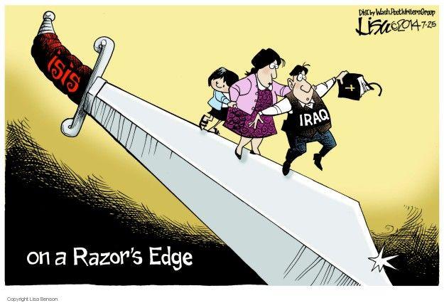Cartoonist Lisa Benson  Lisa Benson's Editorial Cartoons 2014-07-25 international conflict