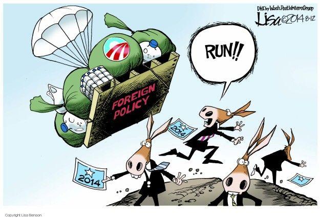 Cartoonist Lisa Benson  Lisa Benson's Editorial Cartoons 2014-08-12 election