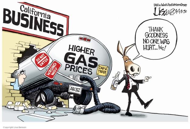 Cartoonist Lisa Benson  Lisa Benson's Editorial Cartoons 2014-08-30 cap and trade