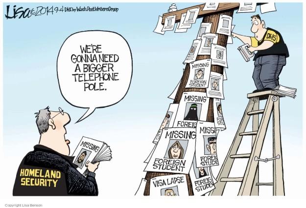 Cartoonist Lisa Benson  Lisa Benson's Editorial Cartoons 2014-09-04 gap