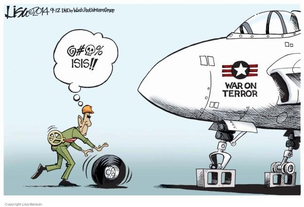 Cartoonist Lisa Benson  Lisa Benson's Editorial Cartoons 2014-09-12 military
