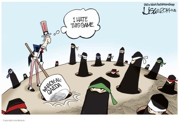 Lisa Benson  Lisa Benson's Editorial Cartoons 2014-09-26 terrorist