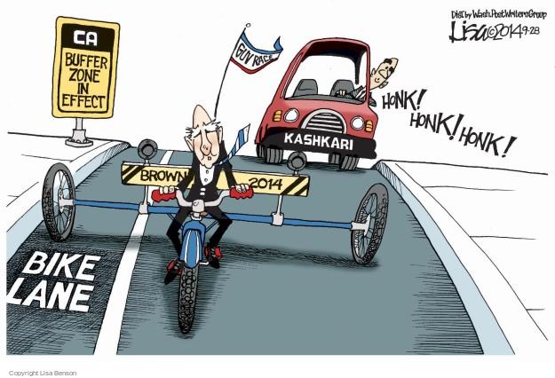 Cartoonist Lisa Benson  Lisa Benson's Editorial Cartoons 2014-09-28 gubernatorial