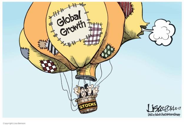 Lisa Benson  Lisa Benson's Editorial Cartoons 2014-10-17 stock market