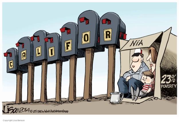 Lisa Benson  Lisa Benson's Editorial Cartoons 2014-10-25 percentage