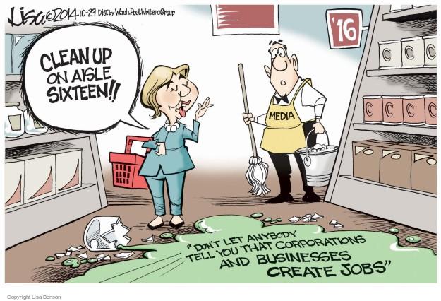Cartoonist Lisa Benson  Lisa Benson's Editorial Cartoons 2014-10-29 election