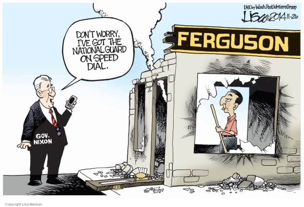 Cartoonist Lisa Benson  Lisa Benson's Editorial Cartoons 2014-11-26 speed