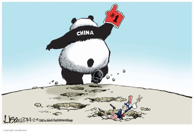 Lisa Benson  Lisa Benson's Editorial Cartoons 2014-12-05 China