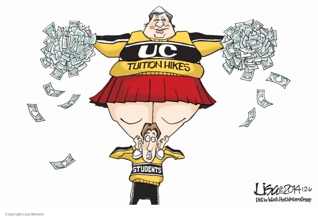 UC tuition hikes. Students.
