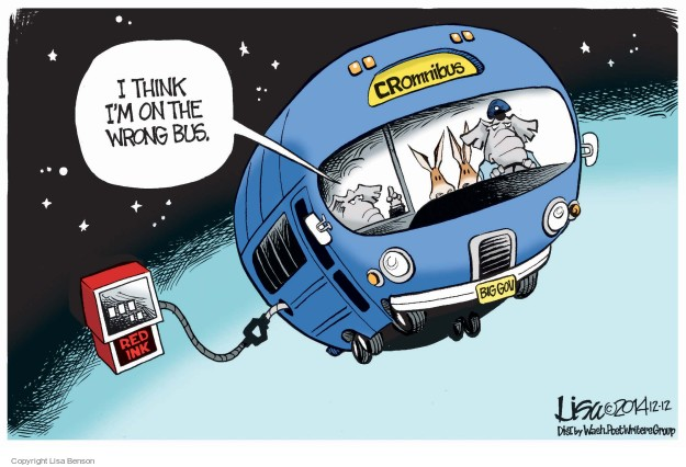 Lisa Benson  Lisa Benson's Editorial Cartoons 2014-12-12 federal budget