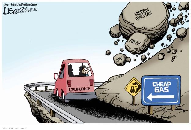 Cartoonist Lisa Benson  Lisa Benson's Editorial Cartoons 2014-12-20 carbon emissions